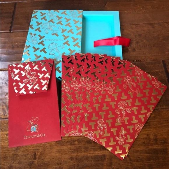 Tiffany&CO Keepsake box with 8 envelopes n…